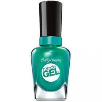 SALLY HANSEN MIRACLE GEL #749 S-TEAL THE SHOW