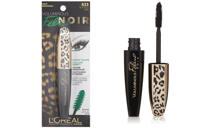 LOREAL VOLUMINOUS FELINE NOIR (633 BLACKEST NOIR)