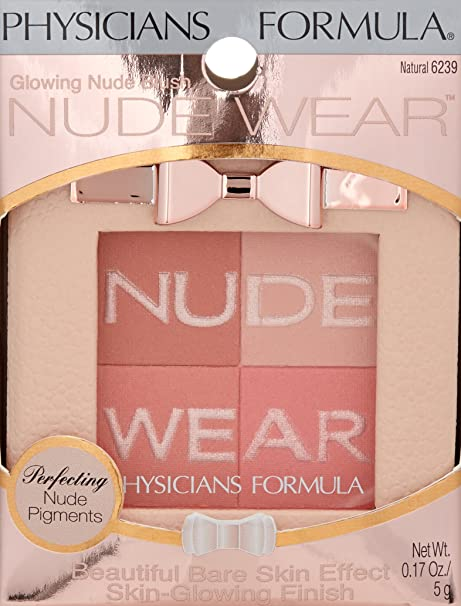 "PHYSICIANS FORMULA NUDE WEAR EYESHADOW ""NATURAL 6239"""