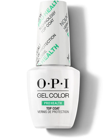 O.P.I GEL COLOR PROHEALTH TOP COAT NAIL POLISH