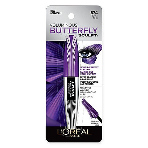 LOREAL VOLUMINOUS BUTTERFLY SCULPT (874 BLACK NOIR)