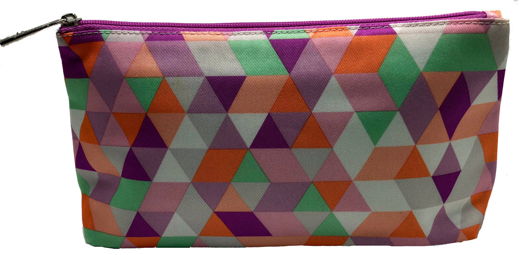 Clinique Triangles Print Cosmetic Bags