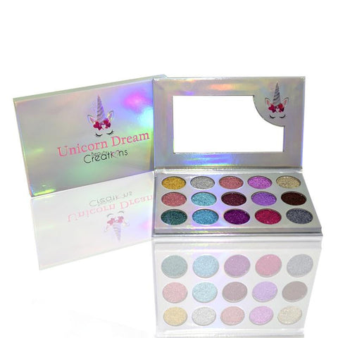 "BEAUTY CREATIONS ""UNICORN DREAM GLITTER"" PALETTE"