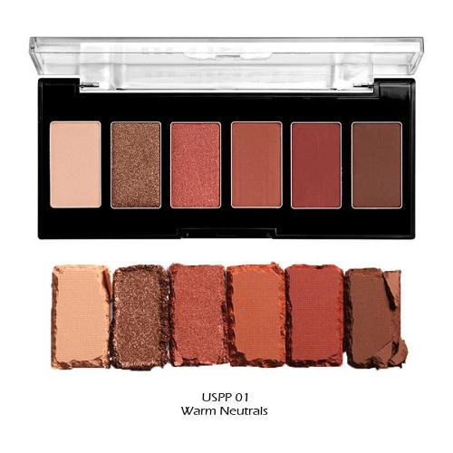 NYX ultimate edit petite shadow palette available in 4 different styles