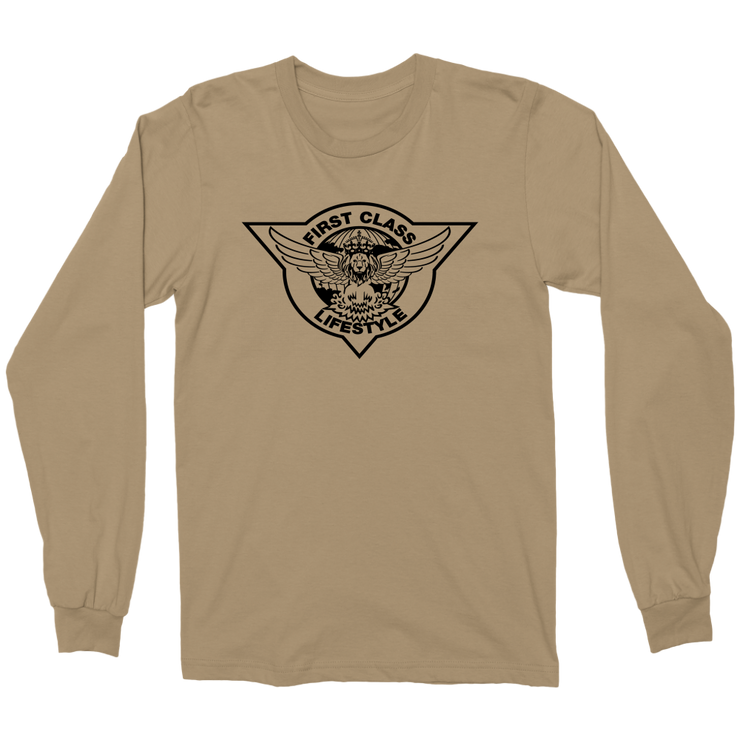 First Class Mens L/S Military Shirt