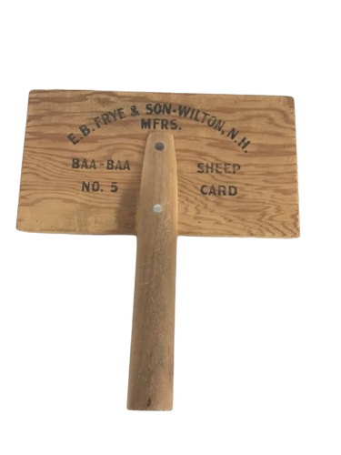 Sheep Brush - E.B. Frye & Son-Wilton, N.H. MFRS. Primitive, Antique
