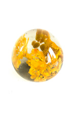 Load image into Gallery viewer, Handblown Glass, Flower, Paperweight, Vintage