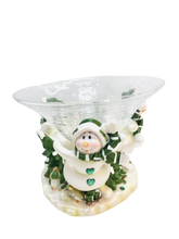Load image into Gallery viewer, Brand New Snowman Candy Bowl