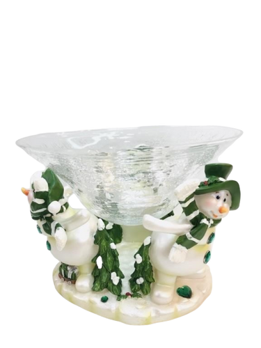 Brand New Snowman Candy Bowl