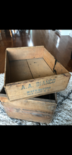 Load image into Gallery viewer, A.A. Bianco Wooden Fruit Crate