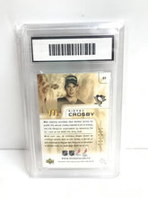 Load image into Gallery viewer, 2005 Sidney Crosby Rookie Card Graded 9 Mint