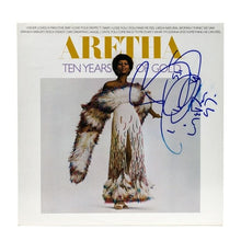 Load image into Gallery viewer, Autographed Aretha Franklin Album