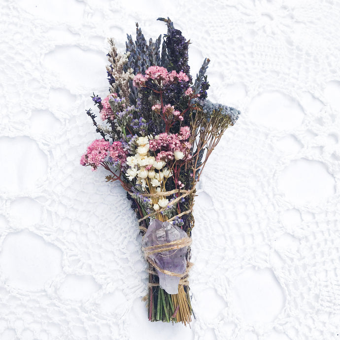 Bloom Amethyst + Flower Wand