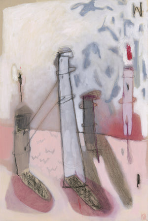 Lighthouse - Limited Edition A3 Print by Kitty Horton