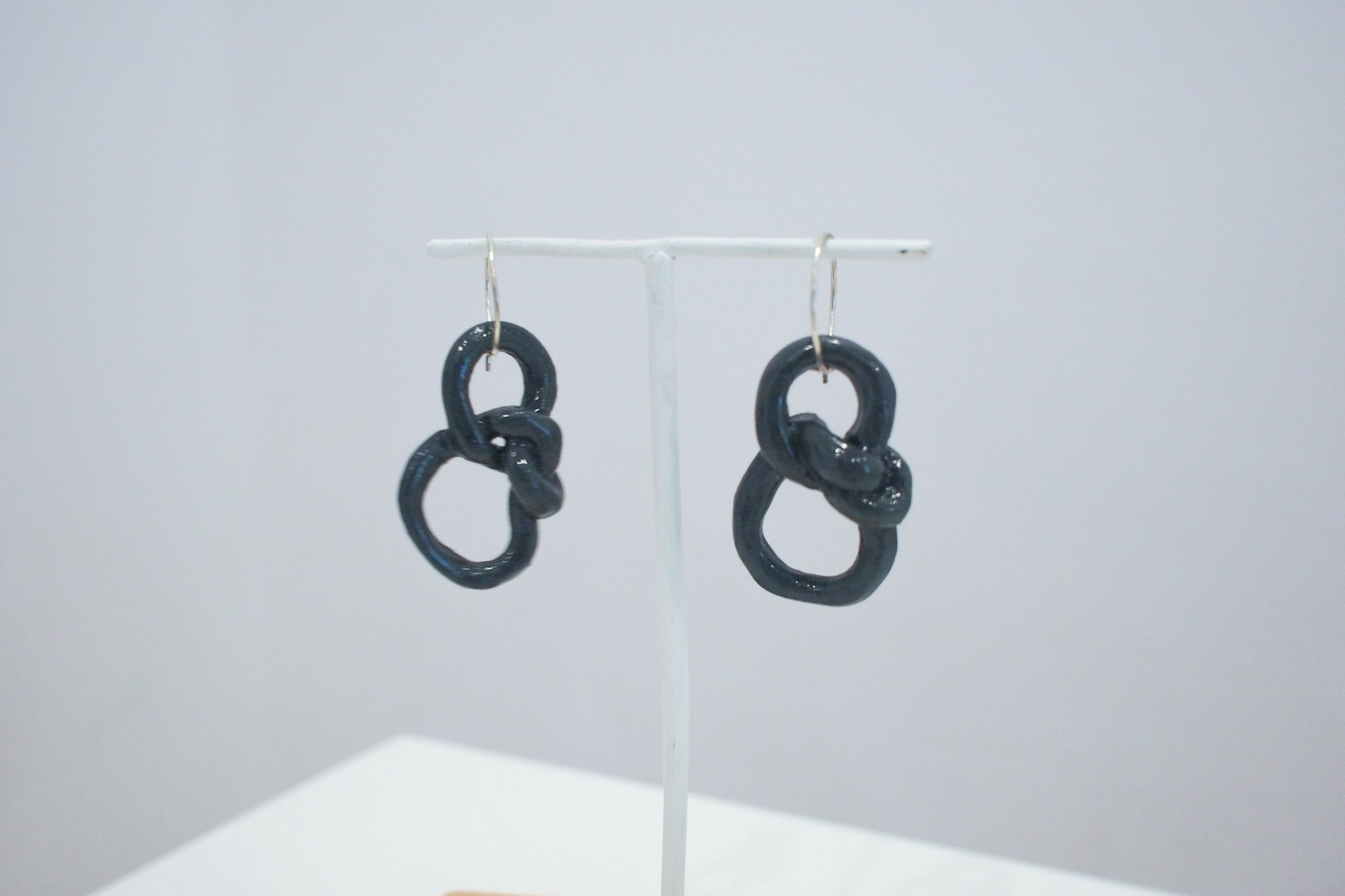Black Knot Earrings II - Rhiannon Dionysius