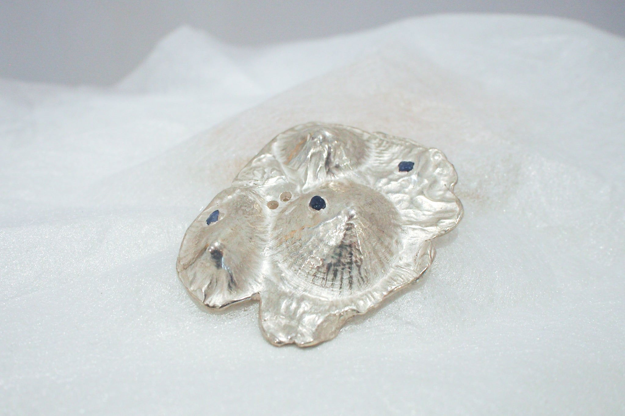 Three Shell Landscape Brooch - Maddison Bygrave