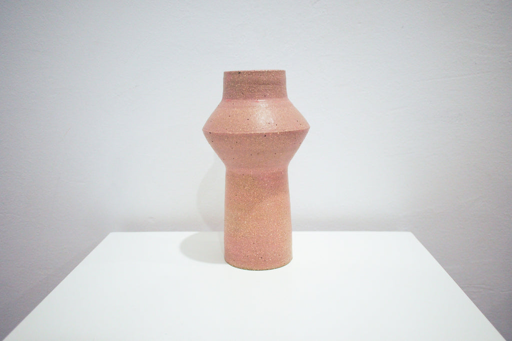 Pink Diamond Vase - LL Cool Glaze