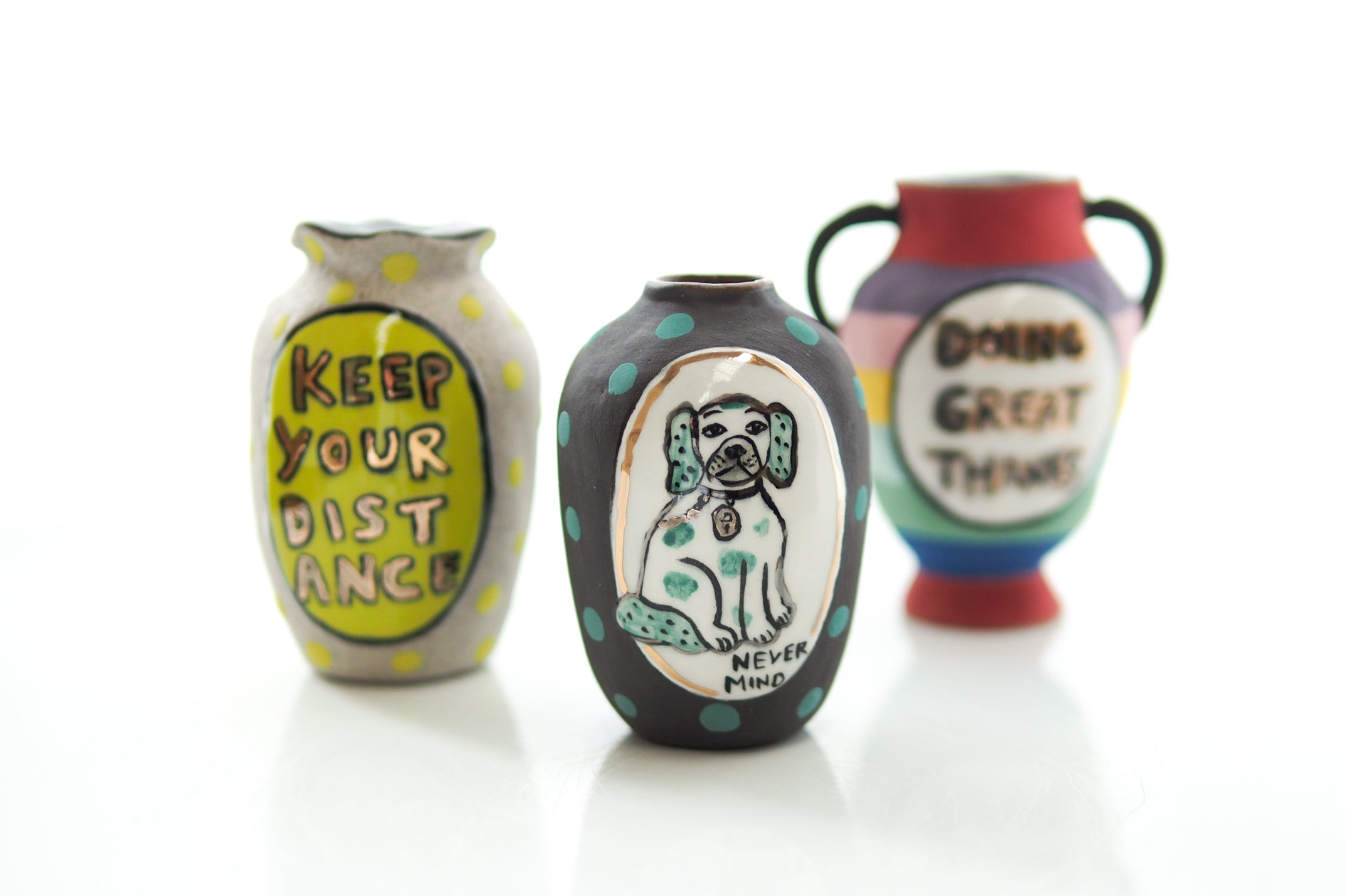 Keep Your Distance Mini Vase - Bonnie Hislop