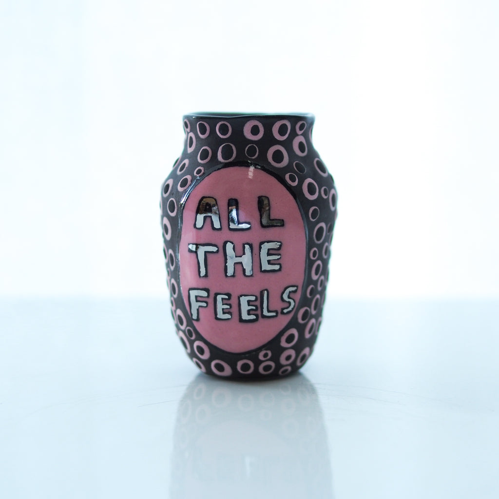 All The Feels Mini Vase - Bonnie Hislop