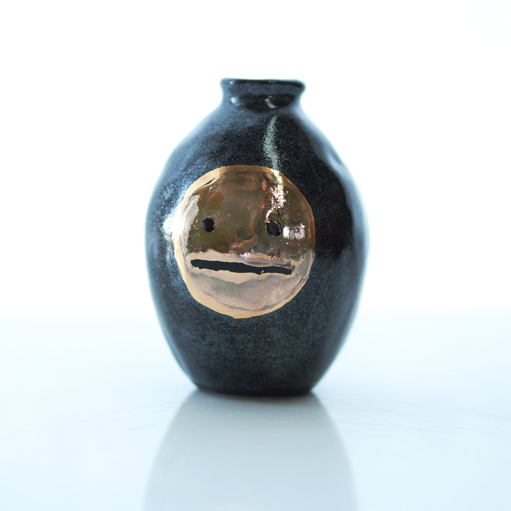 Blah Face Mini Vase #1 - Bonnie Hislop