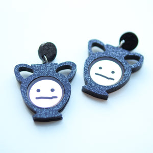 Blah Face Earrings - Bonnie Hislop