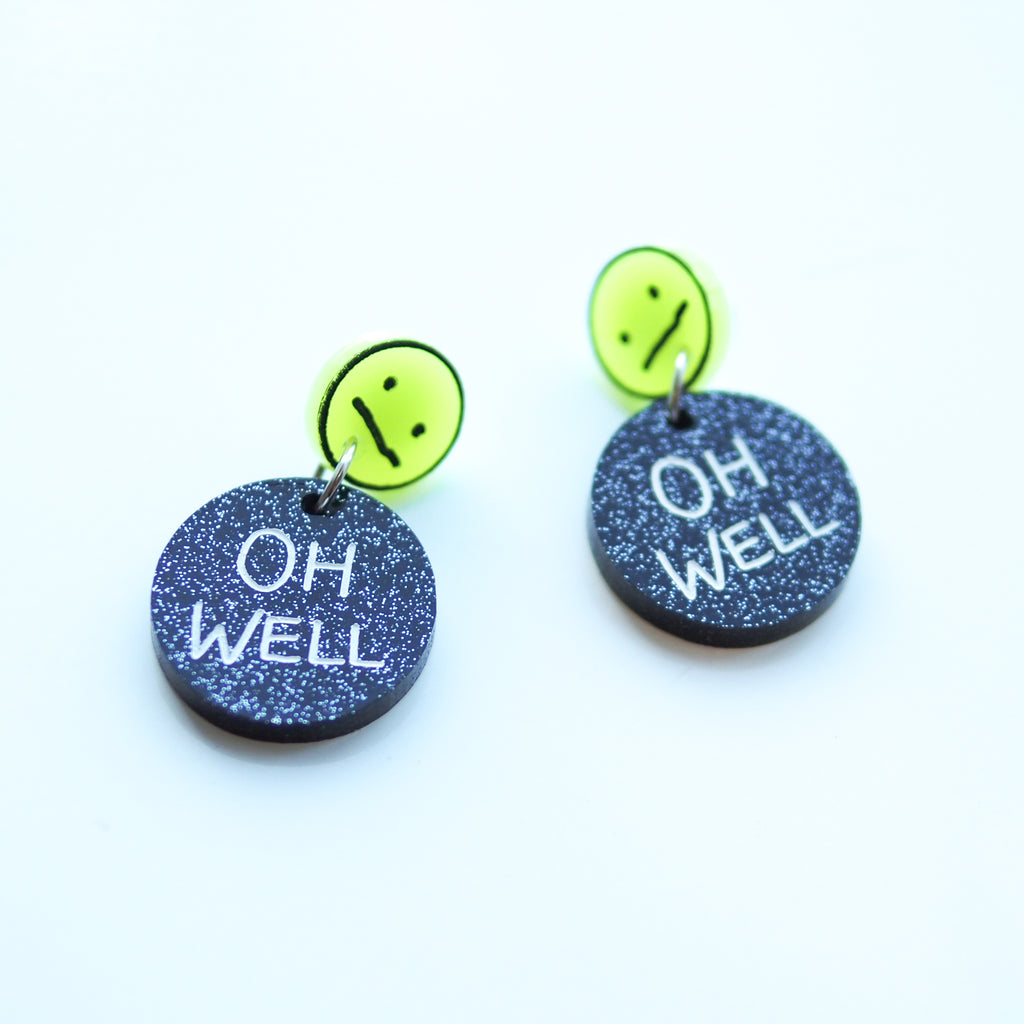 Oh Well Earrings - Bonnie Hislop