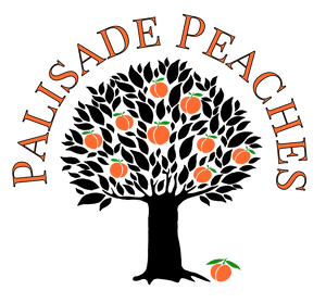 Palisade Peaches Tree Logo