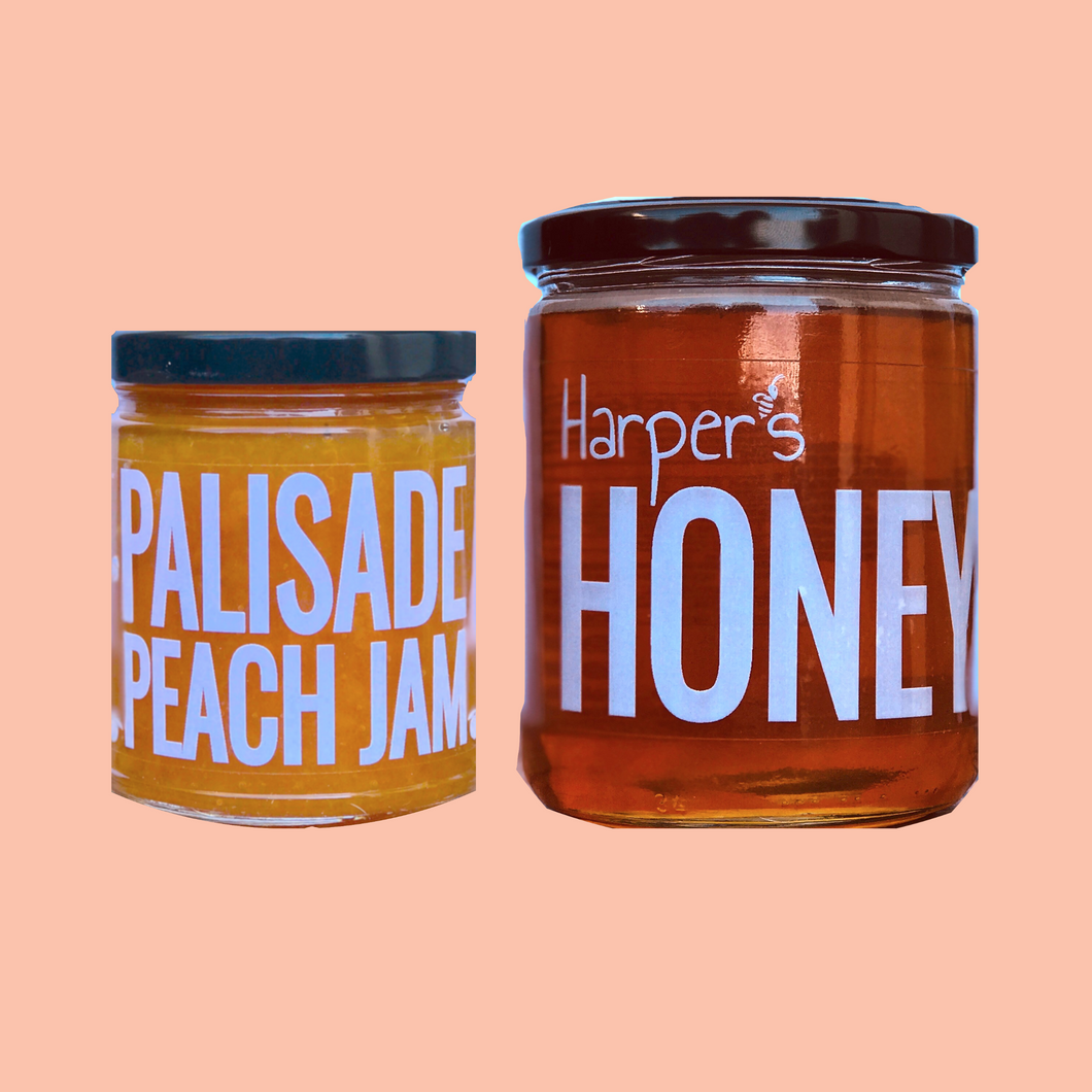 Jam & Honey Combo (Pre-order) - Palisade Peaches