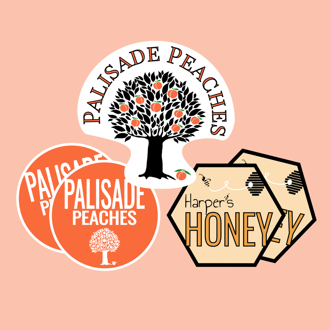 Sticker Pack - Palisade Peaches