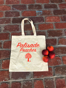 Palisade Peach Canvas Bag - Palisade Peaches