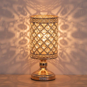 HAITRAL-Crystal-Cylinder-Table-Lamp-Gold-HT-BD028