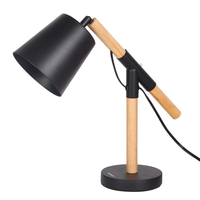 HAITRAL Wooden Table Lamp Creative Adjustable Stand for Bedrooms (HT-CL2254)