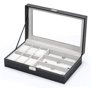 NEX-Men-and-Women-6-Slot-Watch-Organizer-NX-AA002