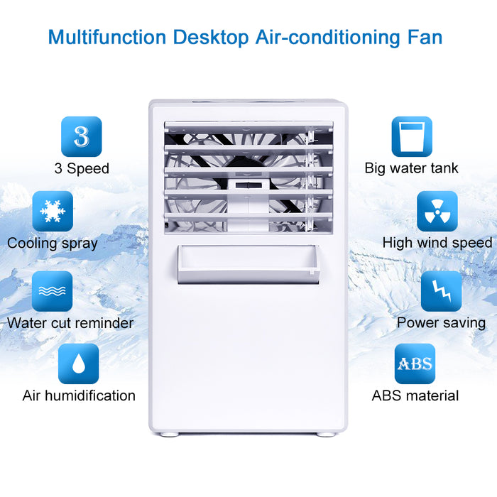 NEX 3-in-1 White Color Portable Air Conditioner, Personal Space Cooler, Humidifier, Purifier (NX-CA001WH)