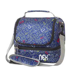 NEX-Neon-Pattern-Double-Cooler-Lunch-Box-NX-LUNCHBAG-17