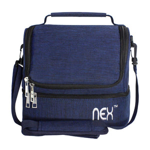 NEX-Navy-Double-Cooler-Lunch-Box-NX-LUNCHBAG-1
