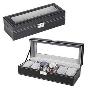 NEX-Men-and-Women-6-Slot-Watch-Organizer-NX-P0003
