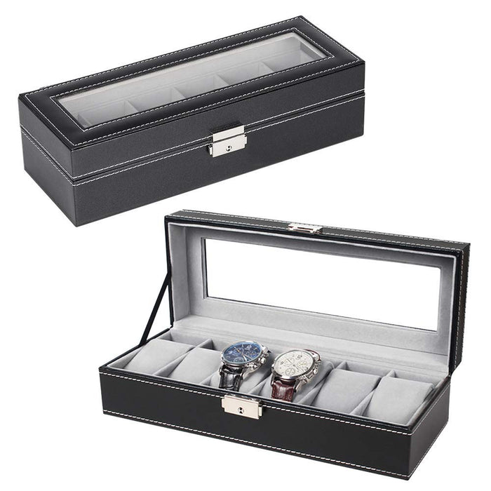 NEX Men and Women 6 Slot Watch Organizer (NX-P0003)