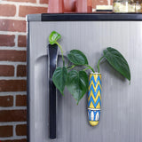 Magnetic Hydroponic Planter(Handmade) - Blue & Yellow Magnetic Hydroponic Planter LazyGardener Pack of 1