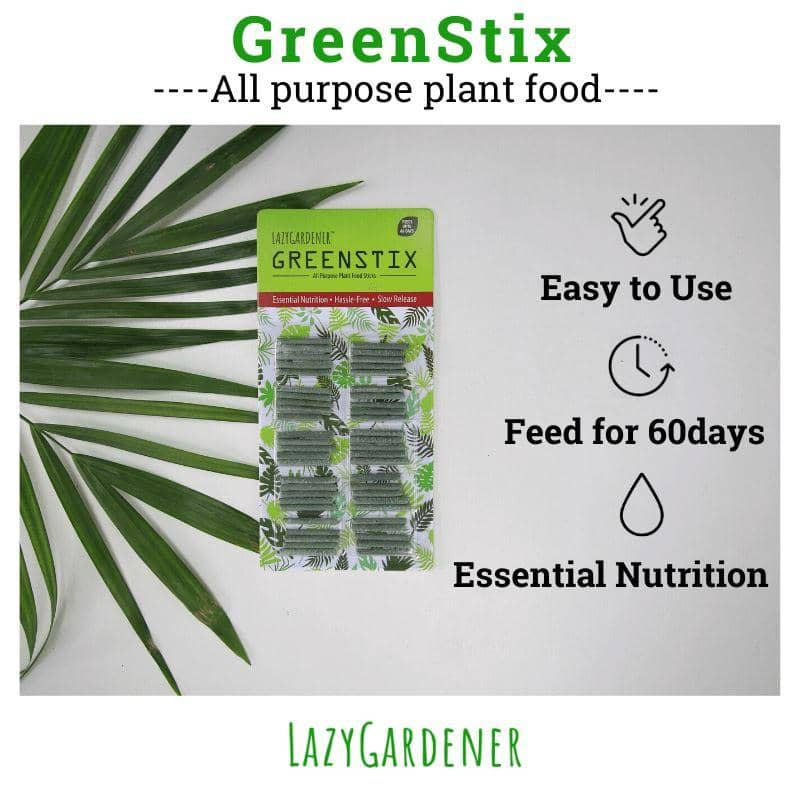Test Beginner Pack Plant food sticks LazyGardener
