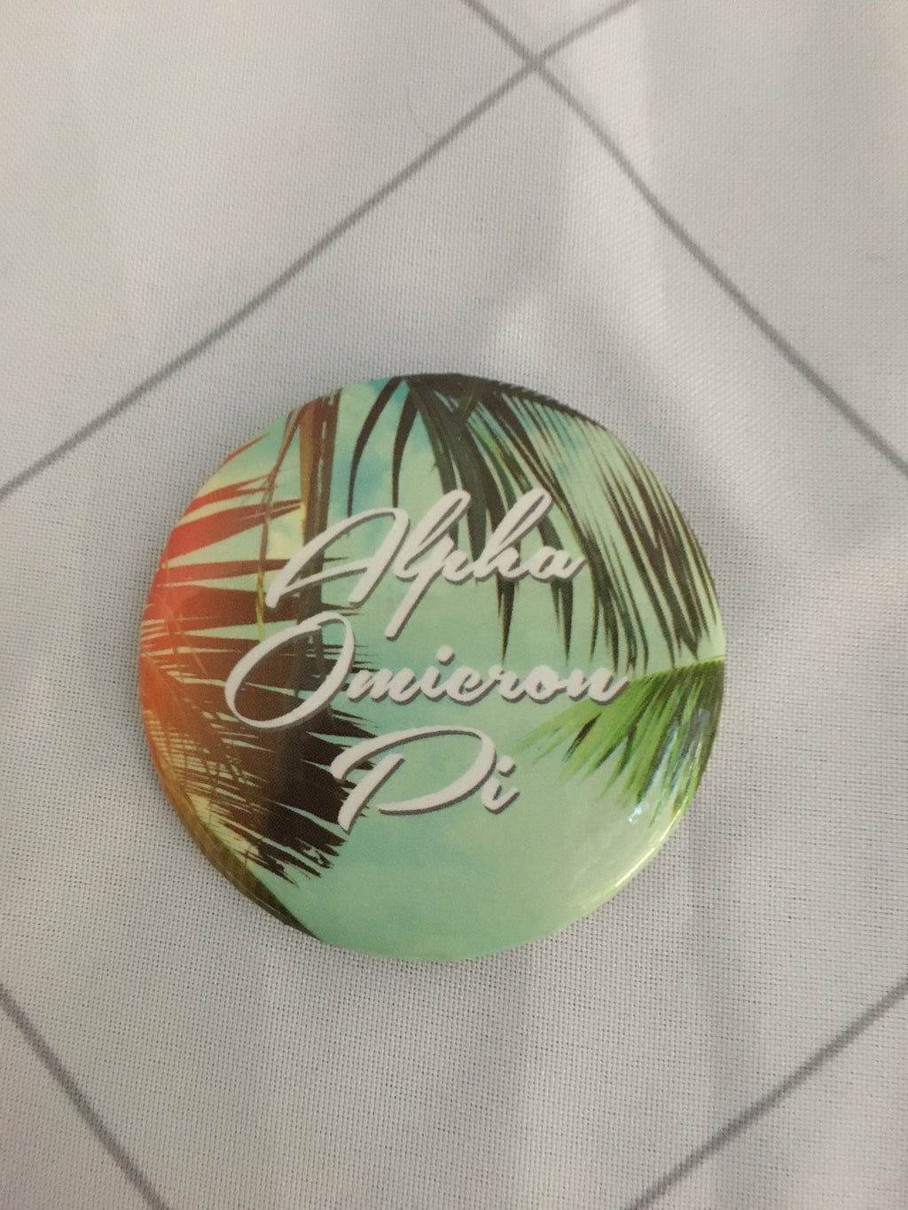 Palm Tree Button