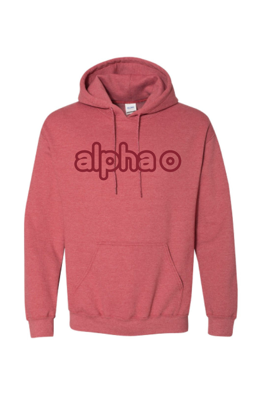 Tone-on-Tone Outline Hoodie