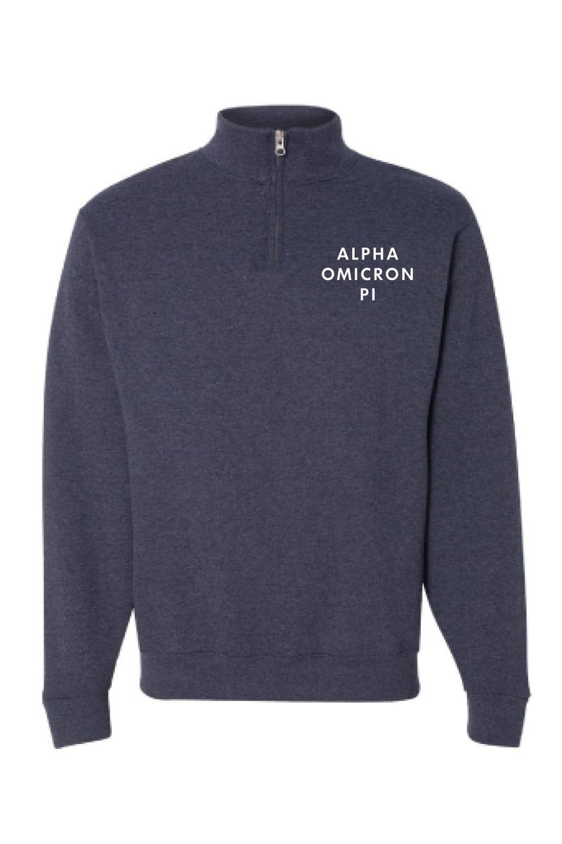 The Classic 1/4 Zip Pullover