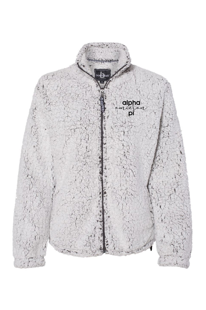 Cozy Up Zip-Up Sherpa