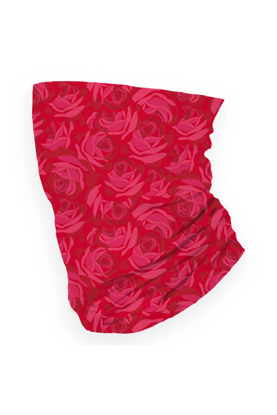 Red Rose Neck Gaiter