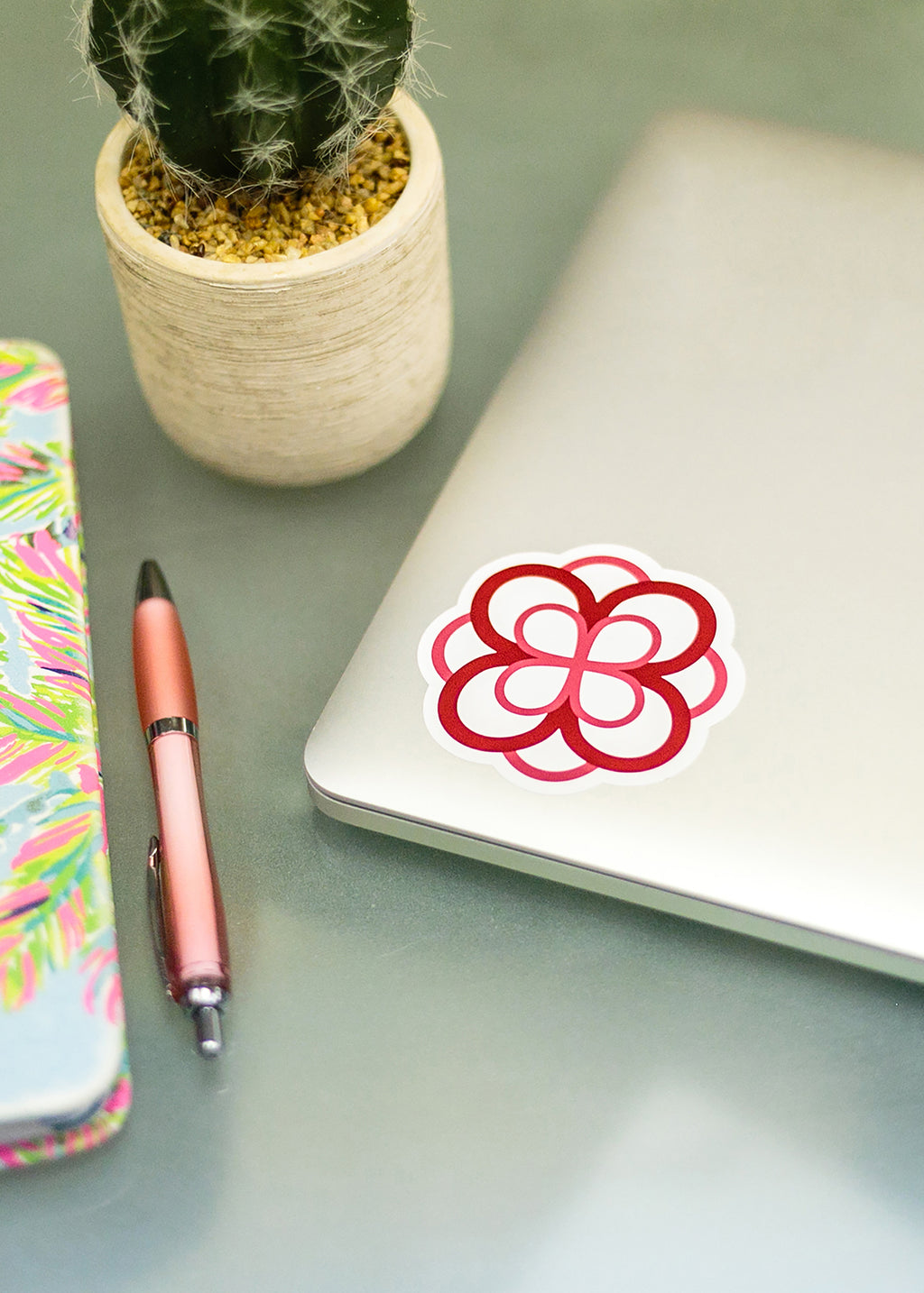 Infinity Rose Decal