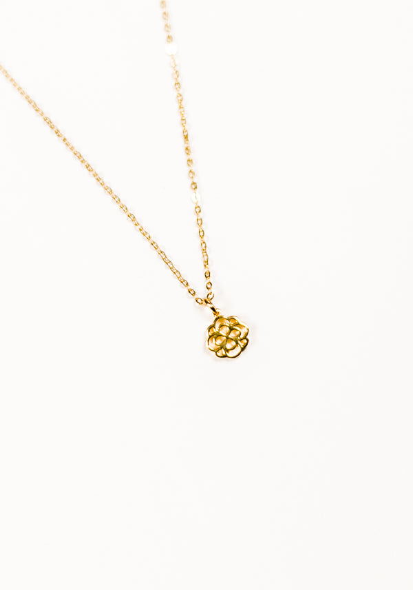 Infinity Rose Necklace