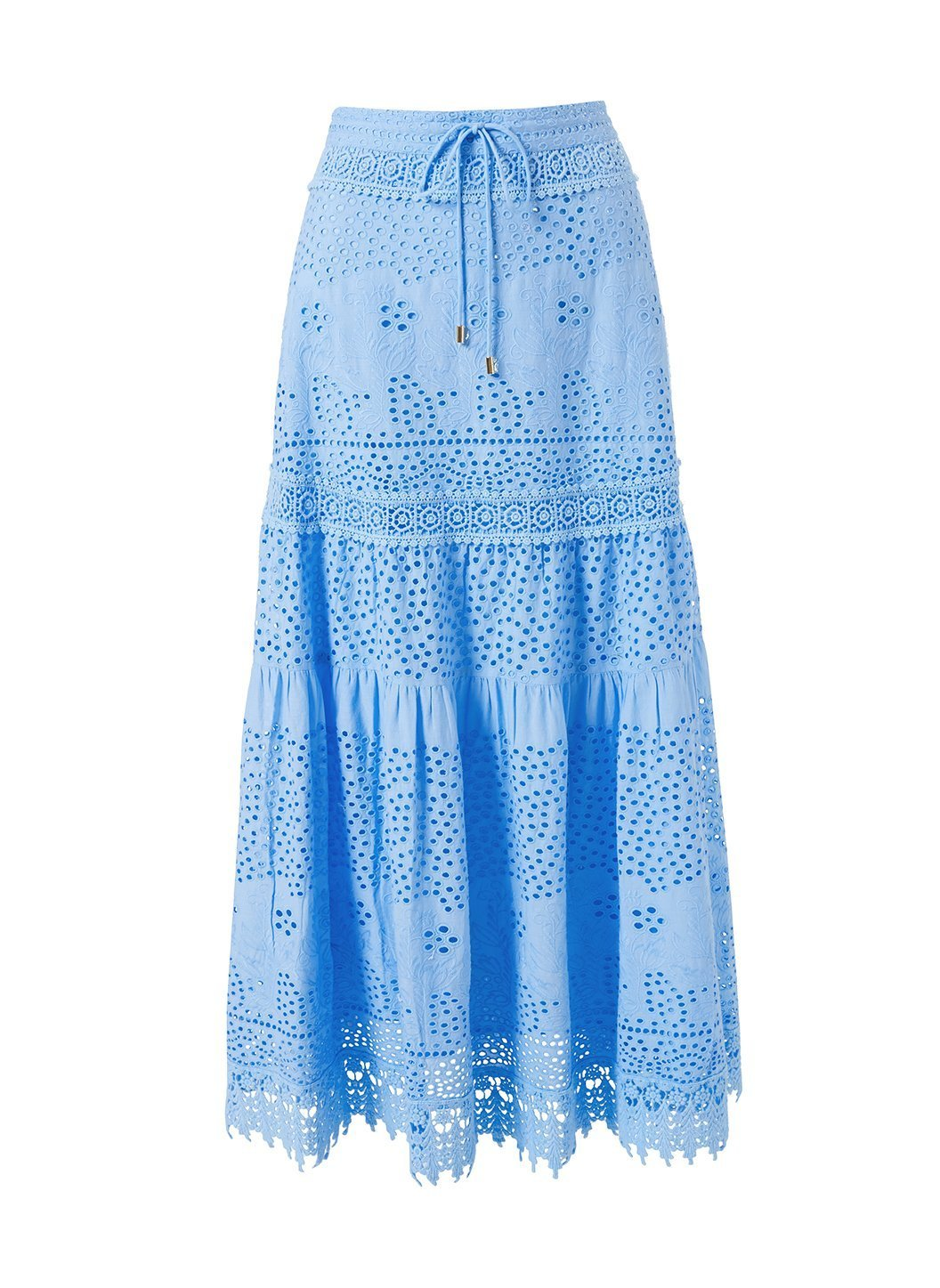 Alessia Cornflower Blue Skirt Cutout