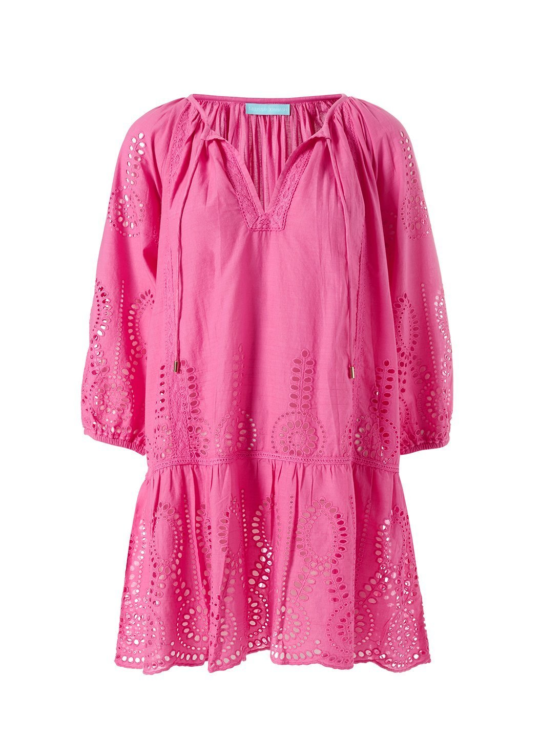 Ashley Flamingo Kaftan Cutout