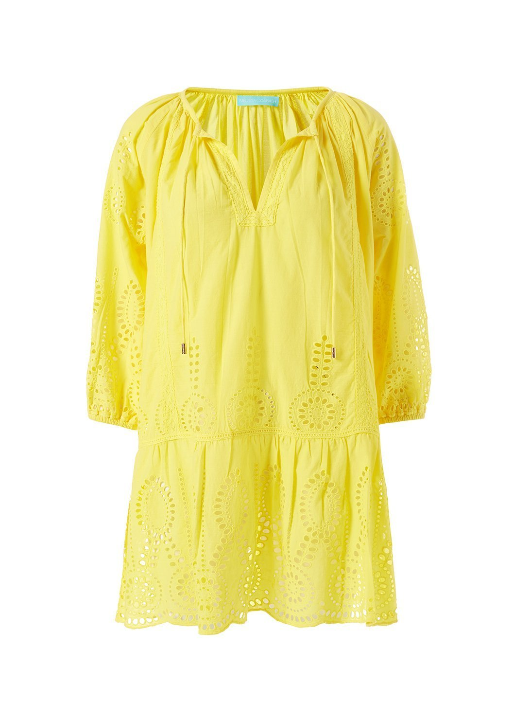Ashley Lemon Kaftan Cutout